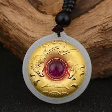best gift good luck jade necklace