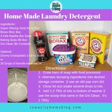 homemade laundry detergent an easy