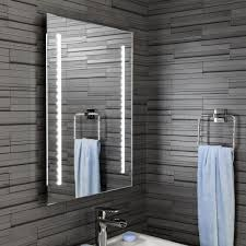mirror with battery powered led lights