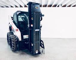 Post And Pipe Driver Attachment For Skid Steer