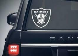 Las Vegas Raiders Nfl Football Decal Car Truck Window Sticker Vinyl Decal 4sizes Ebay