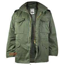 mil tec m65 jacket olive milworld