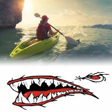 2 Pcs Shark Teeth Mouth Vinyl Decal Stickers For Kayak Canoe Dinghy Boat D Archives Statelegals Staradvertiser Com