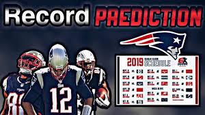 New England Patriots 2019 Record ...