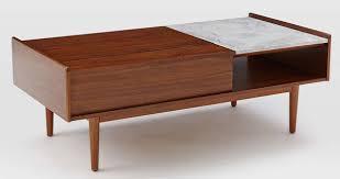 west elm midcentury pop up coffee table