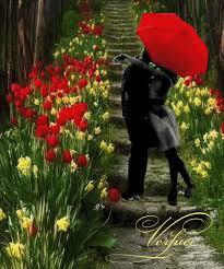 Amor de Primavera - Mensagens - Paixão e Amor
