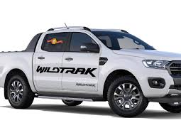 Product 2x 2016 2018 Ford Ranger Wildtrak Vinyl Doors Sticker Decals Graphics