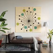 Atomic Age Nuclear Motif Mid Century Modern Wood Wall Art By Imagepixel Society6