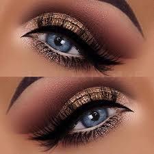 glitter eye makeup by hudafode