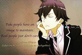 anime❉quote meme ✬editor✬ on fake people have an