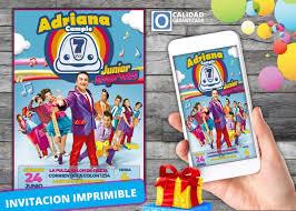 Invitacion De Cumpleanos Digital De Junior Express S 7 00 En