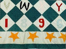 1896 Elva Smith's Alphabet Quilt Top | National Museum of American ...