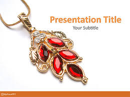 free jewelry powerpoint templates