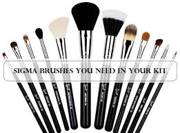 top 10 must have sigma brushes for