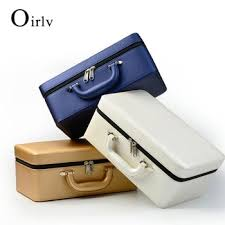 oirlv high quality leather jewelry box