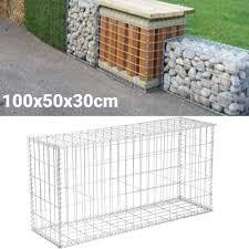 Gabion 100x40x30 Cm Stone Basket Wall Wire Bench For Sale Ebay