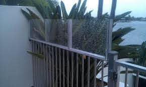 Clear Perspex Fence Extention Fence Height Extension Pool Fence Clear Perspex