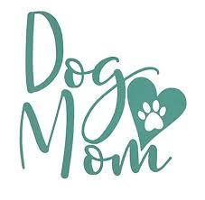 Amazon Com Custom Dog Mom Vinyl Decal Heart Paw Print Bumper Sticker For Tumblers Laptops Car Windows Personalized Dog Owner Gift Handmade