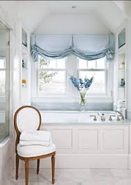 hillary-taylor-classic-white-bathroom-marble-tub-french-chair ...