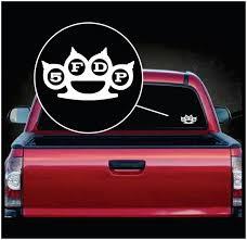 Five Finger Death Punch 5fdp Band Stickers Custom Sticker Shop