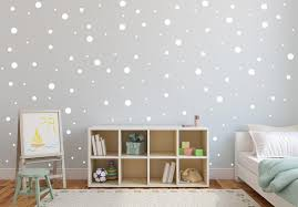 Wall Dot Decals Gold Wall Decals Polka Dot Stickers Peel And Etsy