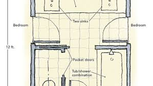 jack and jill bedroom plans master