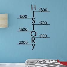 History Time Line 0475 Classroom Decor Wall Decor Back To Scho Wall Decal Studios Com