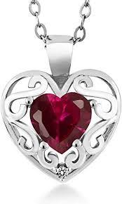 gem stone king 0 97 ct heart shape