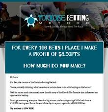Tortoise Betting Method Review Discover... - Best Betting Systems ...