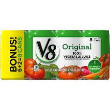 v8 juice original 100 vegetable juice