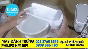 Máy đánh trứng Philips HR1559 - YouTube