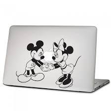 Disney Character Mickey Minnie Laptop Macbook Vinyl Decal Sticker