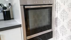 neff slide and hide oven cleaning