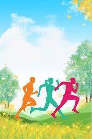 الرياضة ملصق قالب الخلفية الحد الأدنى قالب التمارين الرياضية الدعاية صورة الخلفية للتحميل مجانا