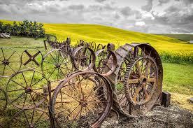 Wagon Wheel Fence Photograph By Brad Stinson