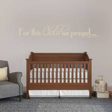 Sweetumswalldecals For This Child We Prayed Wall Decal Wayfair