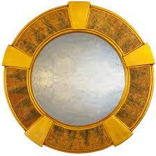 round art deco wall mirrors uk round