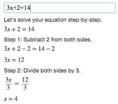 algebra calculator tutorial mathpapa