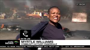 Ennerdale community leader reacts to shutdown: Myrtle Williams ...