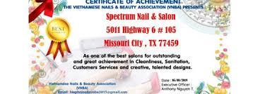 spectrum salon spa 5011 highway 6 105
