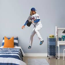 New York Mets Noah Syndergaard Fathead Life Size Removable Wall Decal