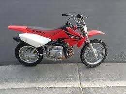honda 70 cc dirt bike motorcycles