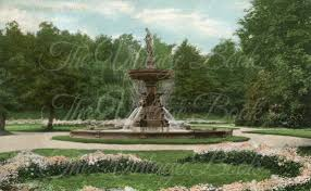 public gardens with water fountain