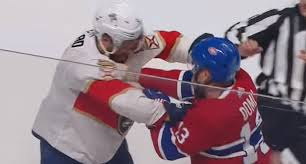 Max Domi sucker punches Aaron Ekblad, suspended for remainder of ...