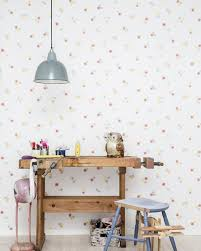When Wallpapers Add An Original Touch To Your Kids Room Petit Small