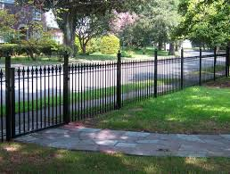 front yard fence ideas landscaping