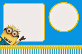 Despicable Me Invitations And Party Free Printables Minion