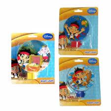 Disney Jake Neverland Pirates Cubby Kids Decorative Room Bath Night Light Lamp Style May Vary Walmart Com Walmart Com