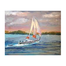 Full Sail Painting by Avis Fox