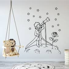 Wall Sticker Kids Room Decor Little Prince Decal Baby Child Fairytale Home Decor